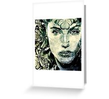 Queen of moths artwork Greeting Card