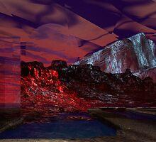 Fire, fire on the Mountain 3 SA by Sazzart