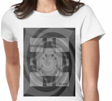 Fashion Plate Tee Womens Fitted T-Shirt