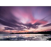 Sunset in 60 Seconds - False Bay, San Juan Island Photographic Print