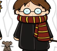 Harry, Ron & Hermione Sticker