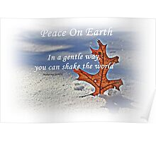 Peace on earth. Poster