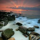 Sennen Cove Sunset by Angie Latham