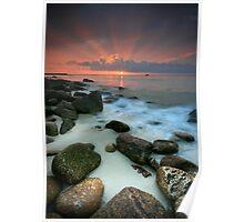 Sennen Cove Sunset Poster