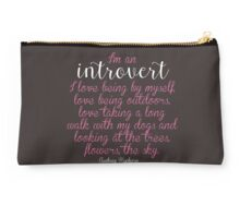 I'm an Introvert  Studio Pouch