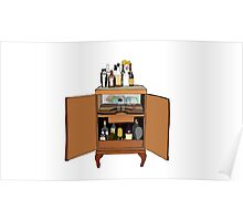 drinks cabinet Poster