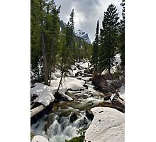 Cascades - On the Way to Hidden Falls Photographic Print