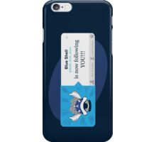 Blue Shell Is Following You iPhone Case/Skin