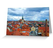 Tabor, Czech Republic Greeting Card