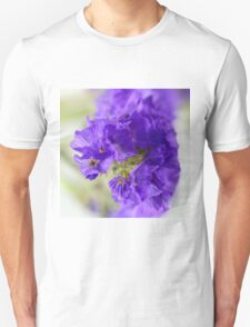 Dreamy blue flowers. T-Shirt