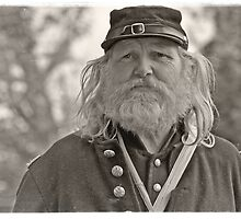 Civil War Soldier 1865 by Cathryn  Lahm