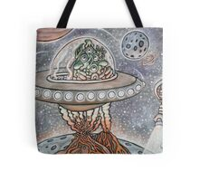 Leaving Destruction Tote Bag