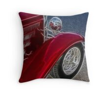 Red Hot...Rod Throw Pillow