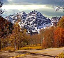Maroon Bells, Colorado by ChrisBaker