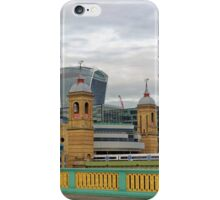 Crossing Bridges, London, United Kingdom iPhone Case/Skin