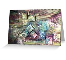 Textured Patio. Greeting Card