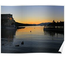 The Lake District: Peace and Tranquillity on Windermere Poster
