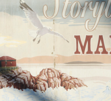 Greetings From Storybrooke - Post Card #2 Sticker