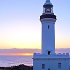 Lighthouse_Sunrise at Norah Head_C by Hope Ledebur