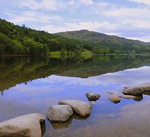 The Lake District: Calm Waters at Grasmere by Rob Parsons