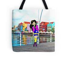 Fashion model illustration  Tote Bag