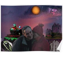Jim&Kasia and the moon  Poster