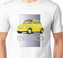 Original Fiat 500: competitive edition Unisex T-Shirt