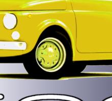 Original Fiat 500: competitive edition Sticker