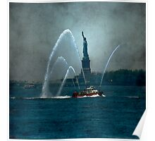 Liberty & The Fireboat Poster