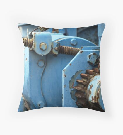Tow Truck Workings Throw Pillow