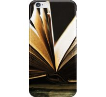 Open Book -Pages- iPhone Case/Skin