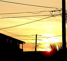 Sunrise in the tired backstreets. by Aiyana