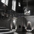 Palace stairs by Anthony Gale