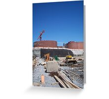 Ravensview Under Construction Greeting Card