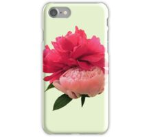 Playful Pink Peonies iPhone Case/Skin