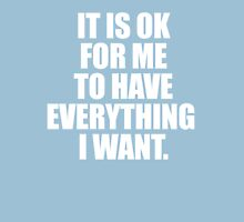 It is OK... Womens Fitted T-Shirt