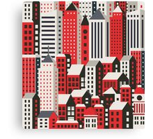 Urban city landscape  Canvas Print