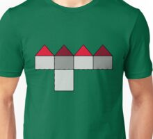 house site plan child drawing Unisex T-Shirt