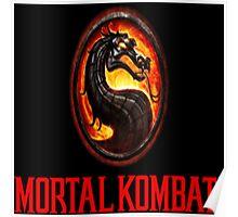 Mortal Kombat Logo Poster