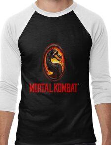 Mortal Kombat Logo Men's Baseball ¾ T-Shirt