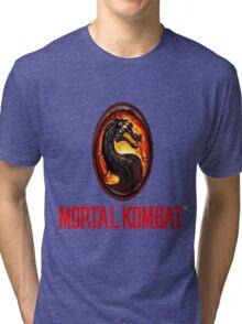 Mortal Kombat Logo Tri-blend T-Shirt