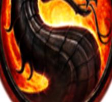 Mortal Kombat Logo Sticker