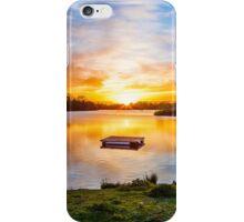 Sunset At Horseshoe Lake iPhone Case/Skin
