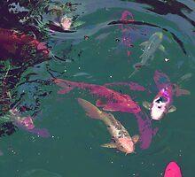 FISH POND by Paul Quixote Alleyne