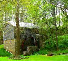 Garvine Mill_1_Spring by Hope Ledebur