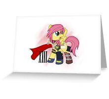 MLP - Lightning Farron Greeting Card