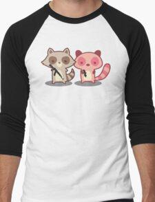 Army of Too Cute Men's Baseball ¾ T-Shirt