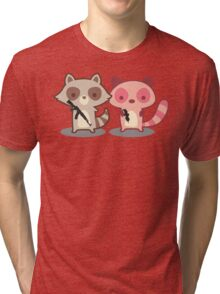 Army of Too Cute Tri-blend T-Shirt