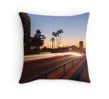 Lido Sunset Throw Pillow