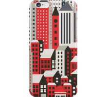 Urban city landscape  iPhone Case/Skin